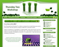 Thursday Tea Workshop
